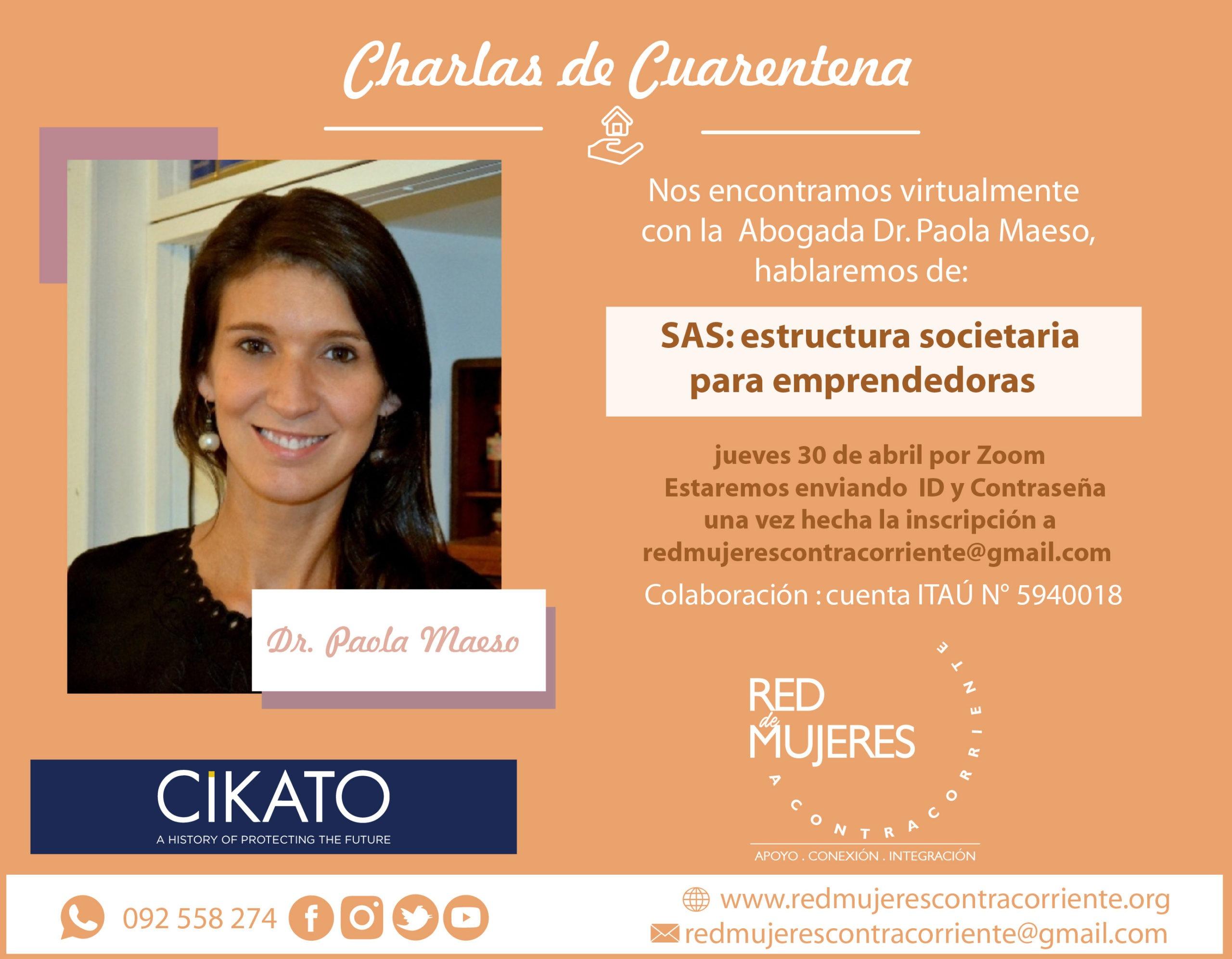 En este momento estás viendo Charlas de Cuarentena Dr. Paola Abreu