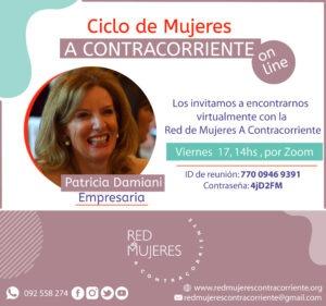 Lee más sobre el artículo Ciclo 2020 de Mujeres A contracorrientes Patricia Damiani