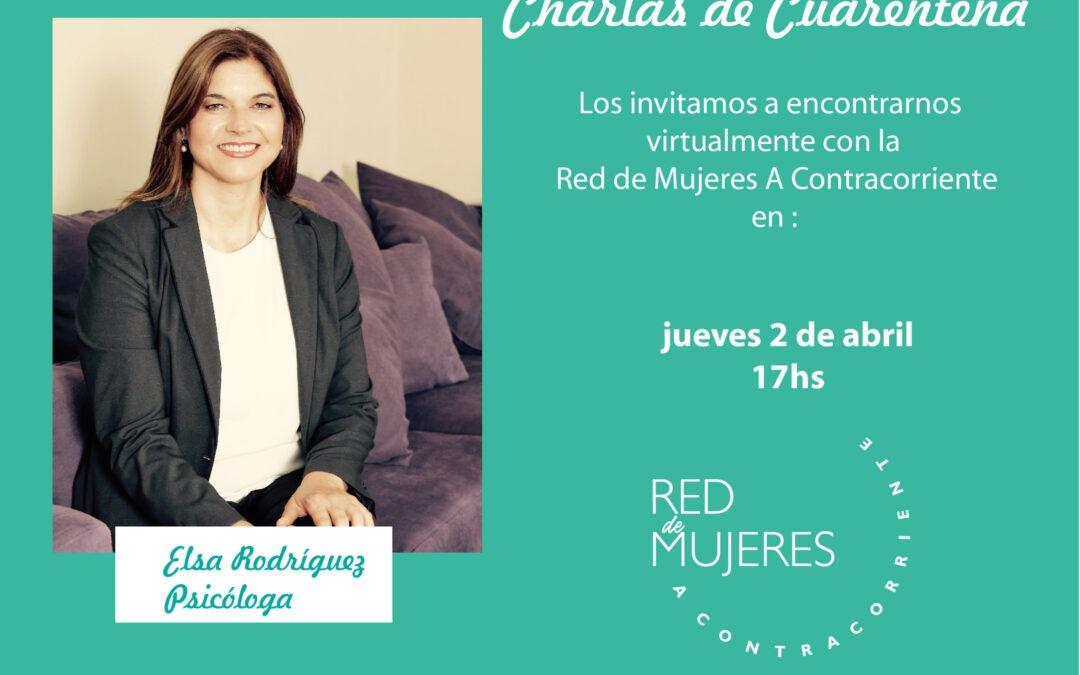 Charlas de Cuarentena – Ps. Elsa Rodríguez