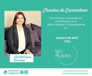 Lee más sobre el artículo Charlas de Cuarentena – Ps. Elsa Rodríguez