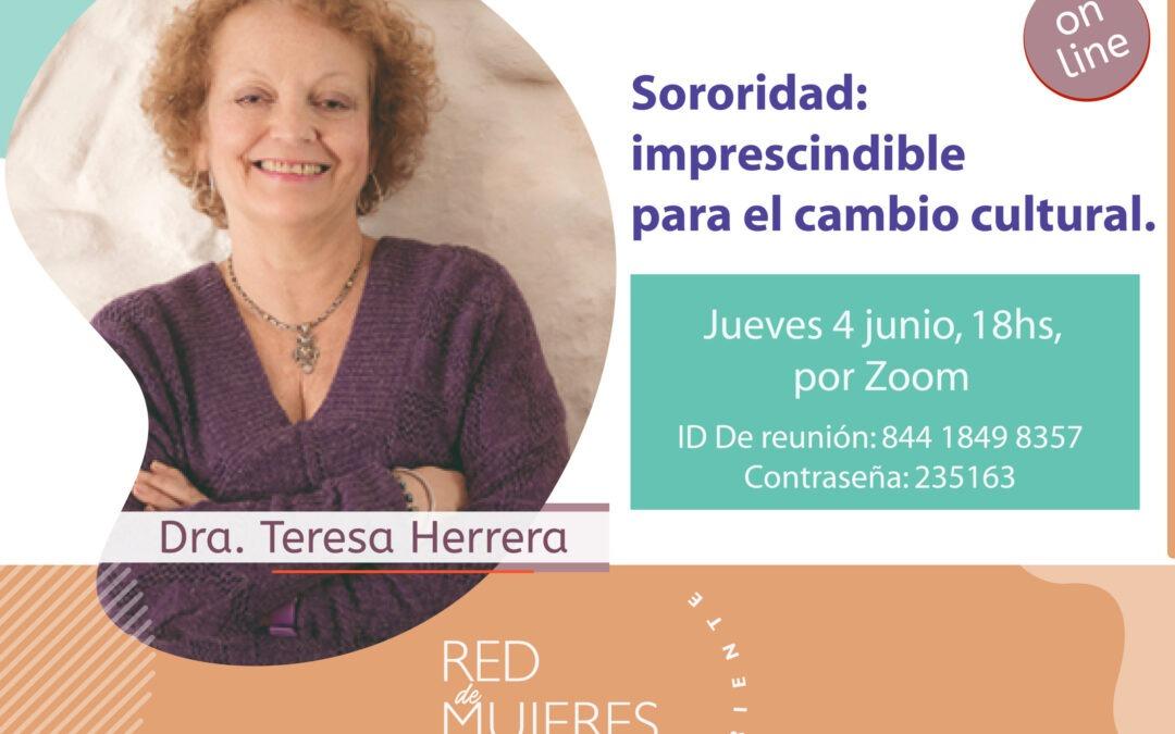 Ciclo de Mujeres A Contracorriente con Teresa Herrera