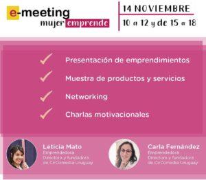 Lee más sobre el artículo E-meeting Mujer Emprende
